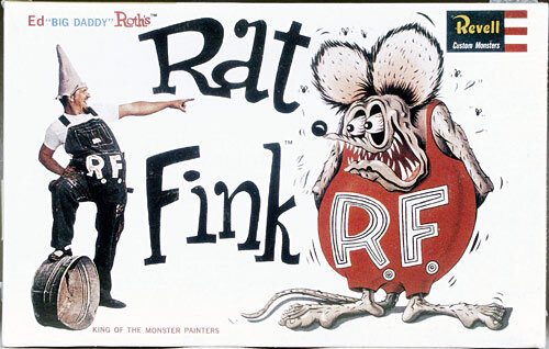 Pod-Crastination #1- Ed « Big Daddy » Roth : Rat Fink, Hot Rods et Hell's Angels